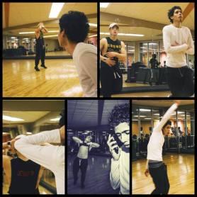 rehearsal pic 3 here dance short film