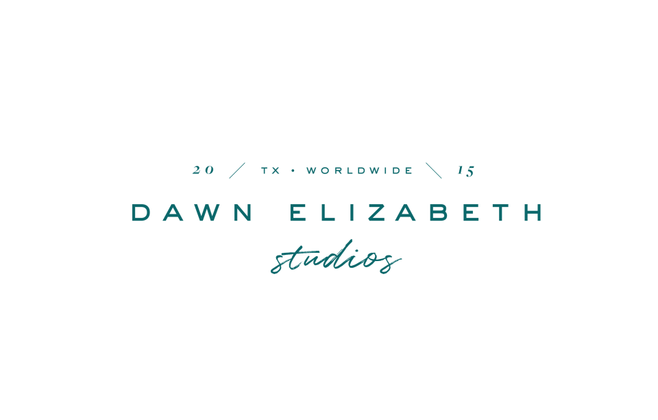 With Grace and Gold - Logo Design and Web Design for Photographers - Dawn Elizabeth Studios - Dawn Richardson - Photo - 10