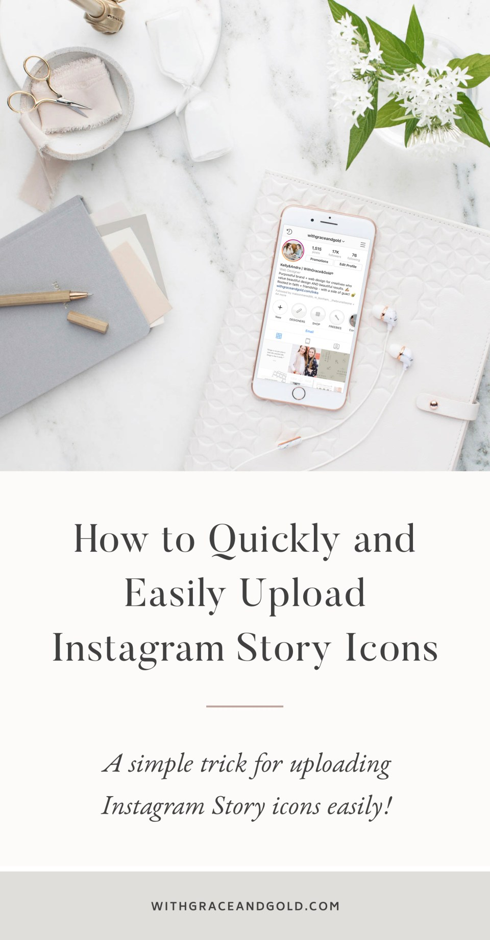 How to Quickly and Easily Upload Instagram Story Icons