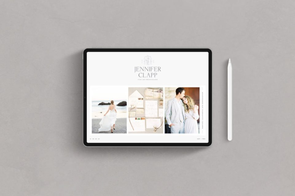 Jennifer Clapp Photography - Custom Brand and Showit Web Design by With Grace and Gold - Showit Theme, Showit Themes, Showit Template, Showit Templates, Showit Design, Showit Designer - 7