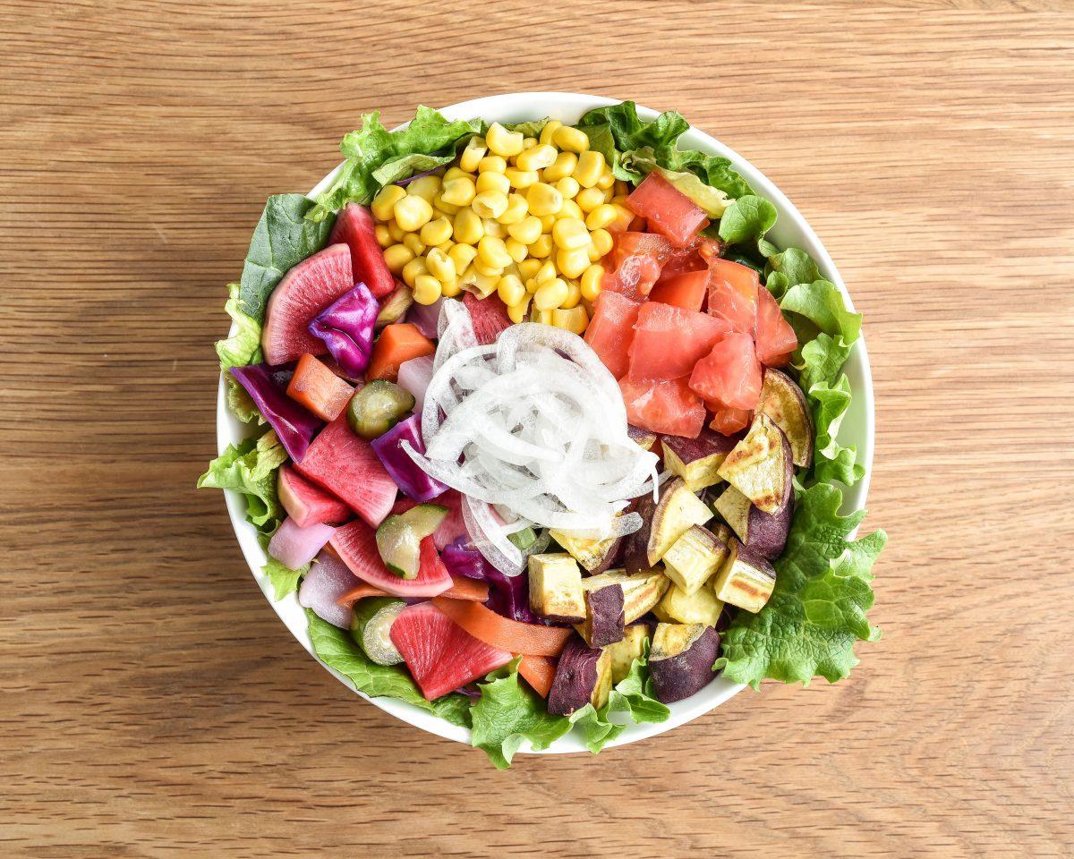 和風ピクルスのカラフルサラダ