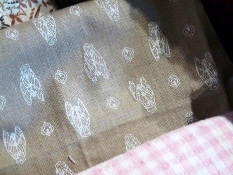 Fabric from Mom via Provence...