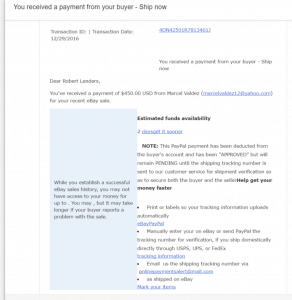 Page 1 of the email