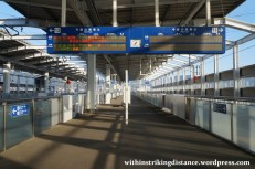 27Mar15 001 Japan JR Kyushu Shin-Tosu Station Saga Shinkansen Platform