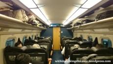 03Jul15 002 Ichinoseki Tokyo JR East Tohoku Shinkansen Hayabusa 104 E6 Series Train Green Car