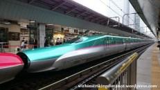 03Jul15 003 Tokyo Station JR East Tohoku Akita Shinkansen E5 Series Bullet Train