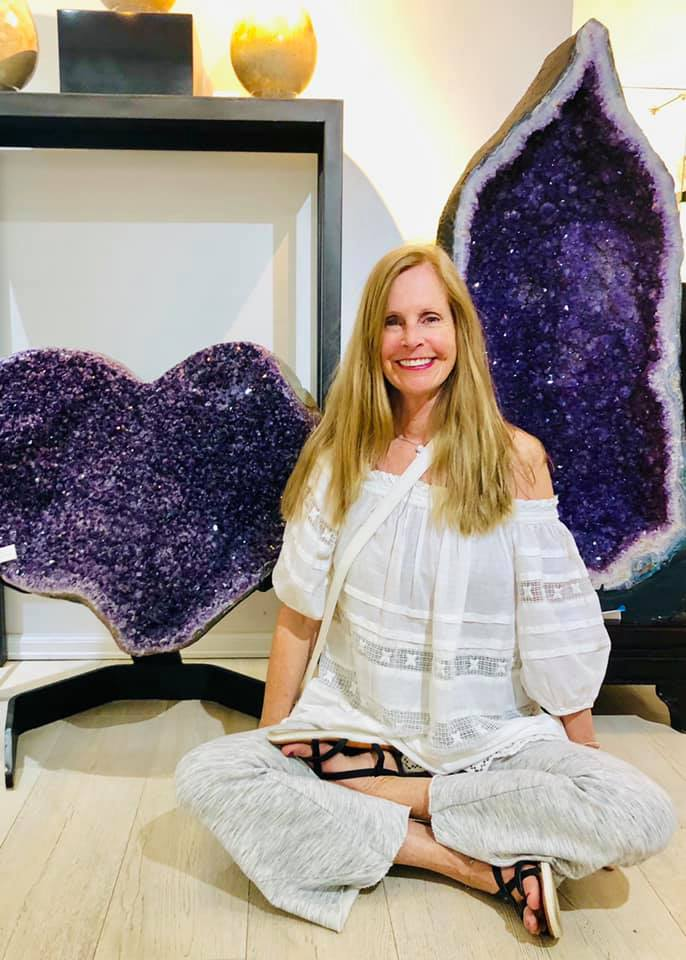 Donna Sica offers Gift to the Chakras singing bowl mediations at With Intentions Holistic Studio