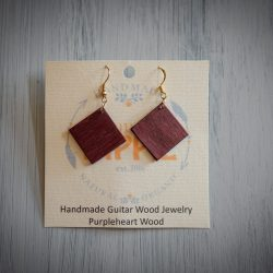 Tennessee Hippie - Guitar Wood Earrings