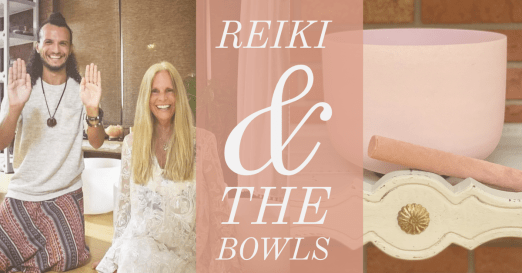Reiki and the Singing Bowls with Donna Sica and Usui Holy Fire Reiki Master, Jonathan Carone
