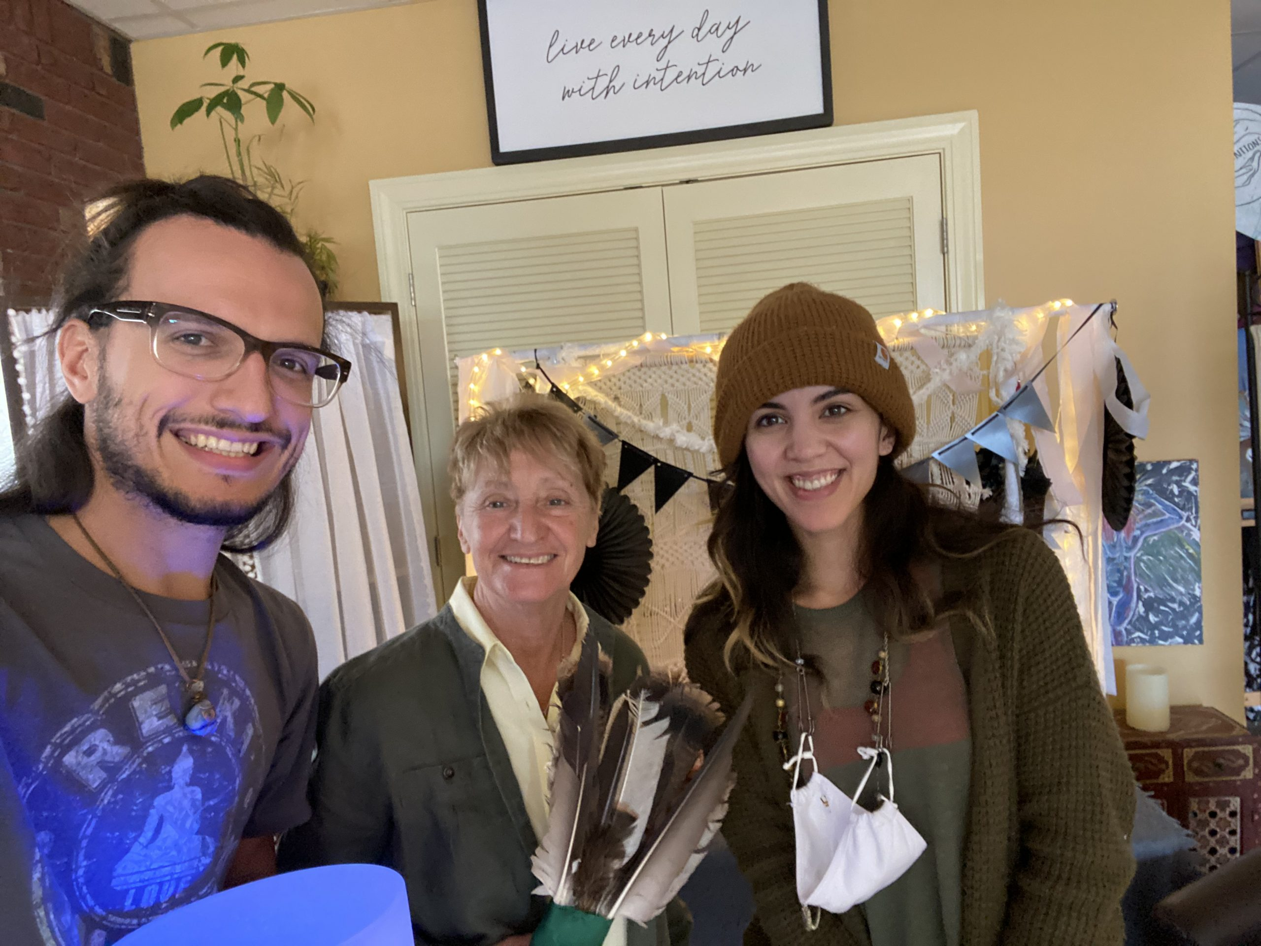 Clearing with Ellie Campolei at With Intentions Holistic Studio in Lake Como, NJ