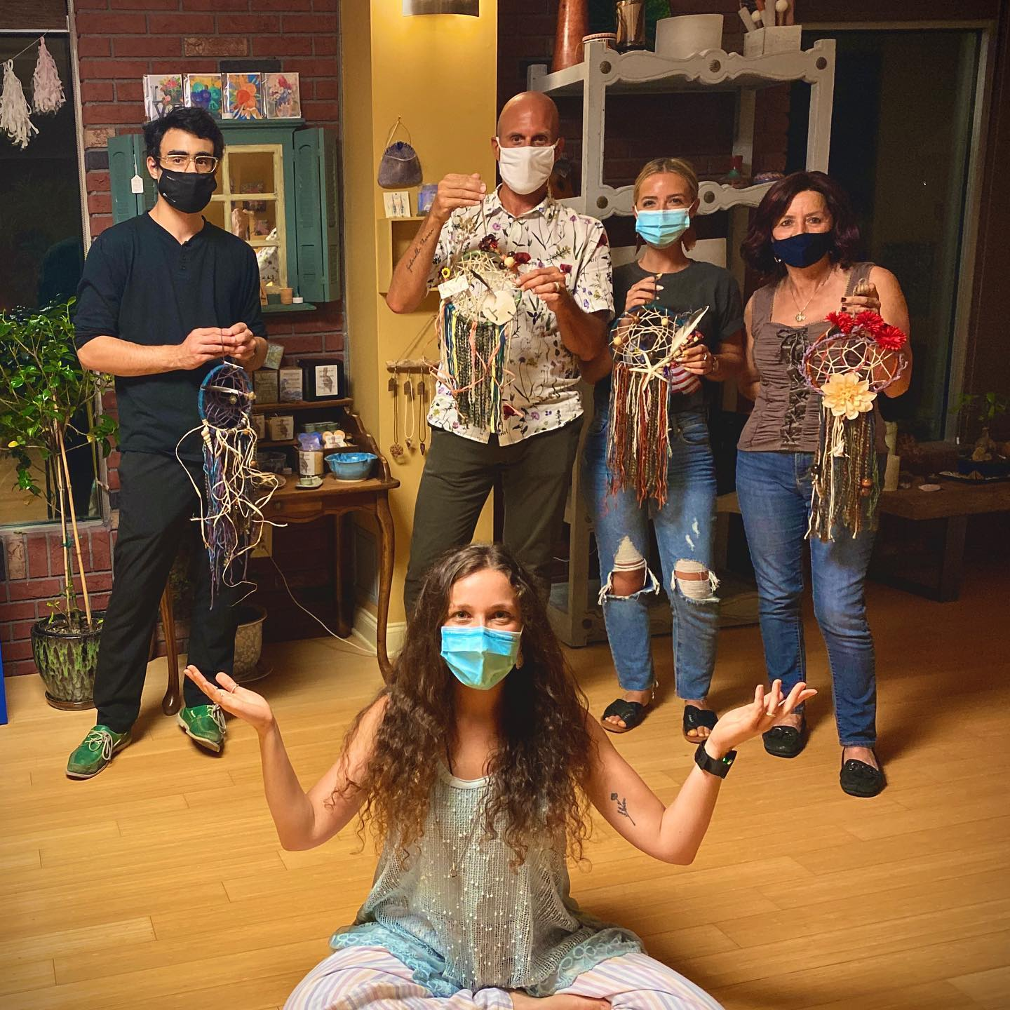 Dreamcatcher Workshop at With Intentions Holistic Studio in Lake Como, NJ