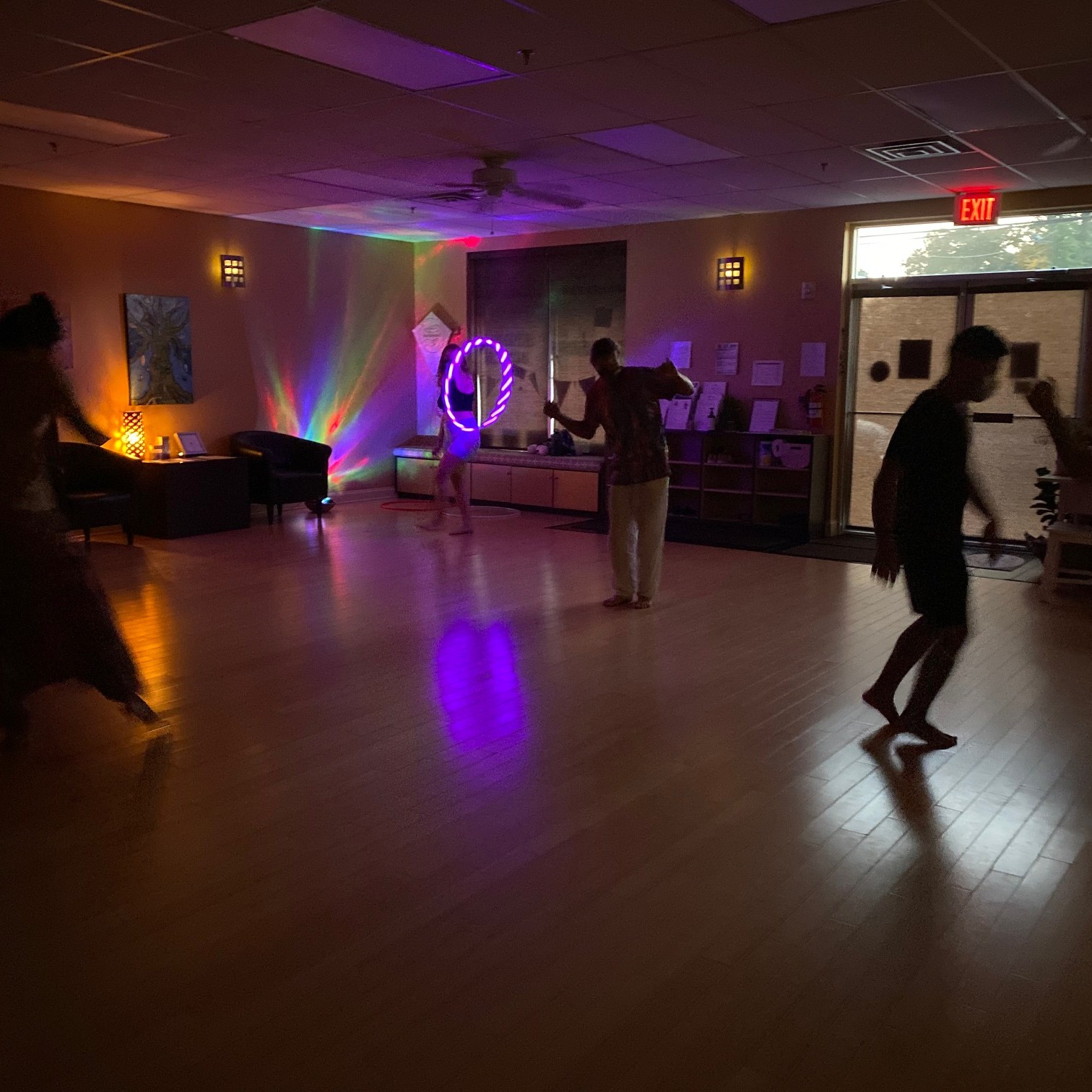 Ecstatic Dance at With Intentions Holistic Studio in Lake Como, NJ
