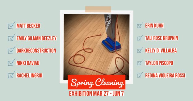 Spring Cleaning Group Art Exhibition at With Intentions Holistic Studio & Art Gallery.