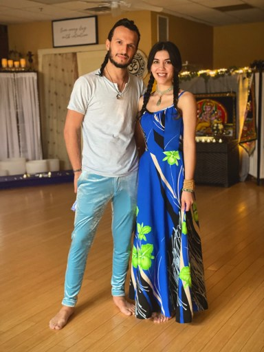 Jonathan Carone and Regina Viqueira Rossi, co-founders of With Intentions Holistic Studio in Lake Como / Belmar, New Jersey. Join us for meditation, reiki, art and more!