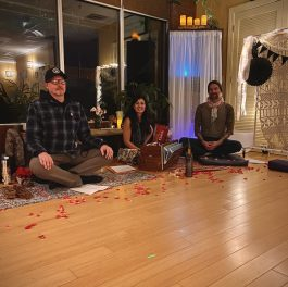 Kirtan and Reiki Gatherings: Kirtan is the call and response style chanting and singing of ancient Sanskrit Mantras.