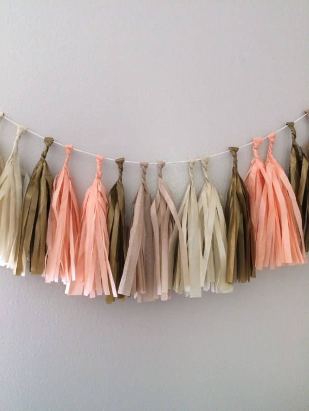 Tassel tissue you garland by the Flair Exchange