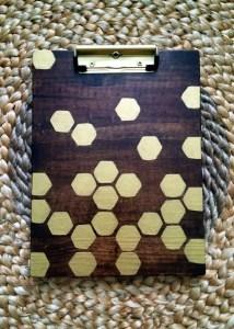 hexagon pattern, beehive pattern