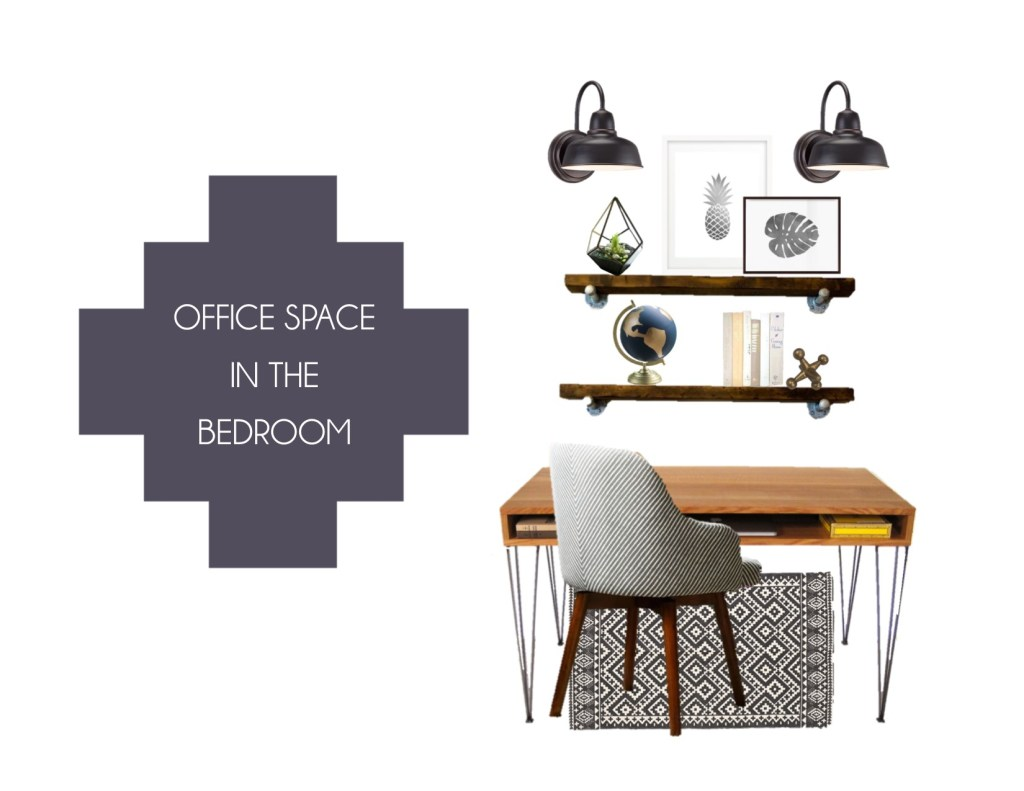 Creating-an-office-space-in-the-bedroom