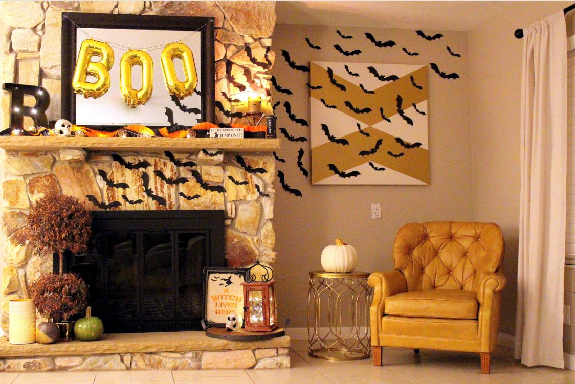 Bat Wall Decor for Halloween