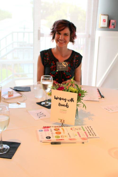 Guest speaker, Sarah Hearts
