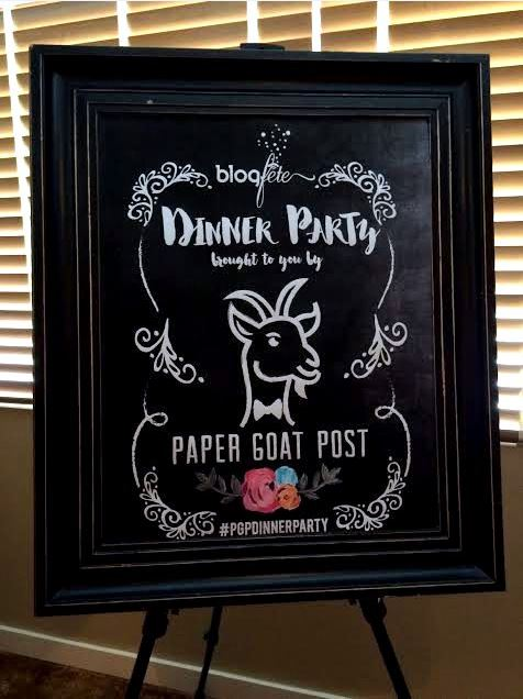 Paper Goat Post Dinner Party