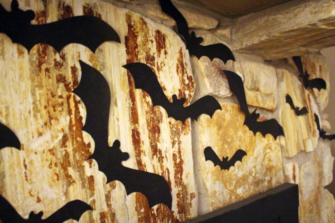 Bats creating a great Halloween theme