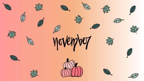 November Wallpaper for your laptop or desktop computer.