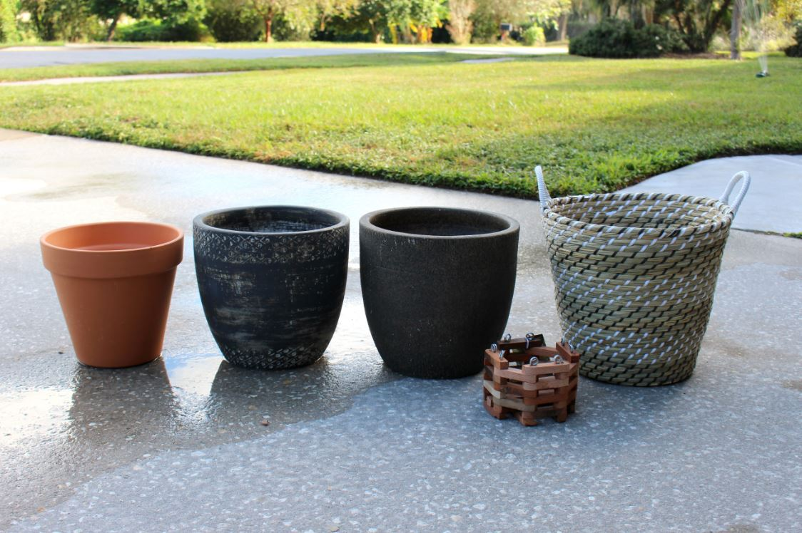 Pots to use for indoor plants