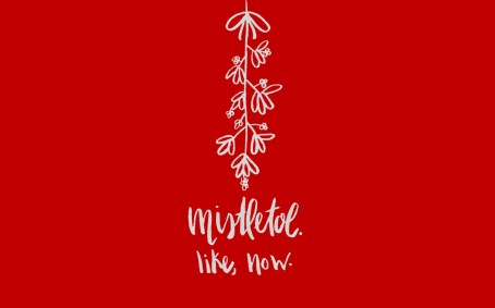 1440 x 900 Screen Mistletoe