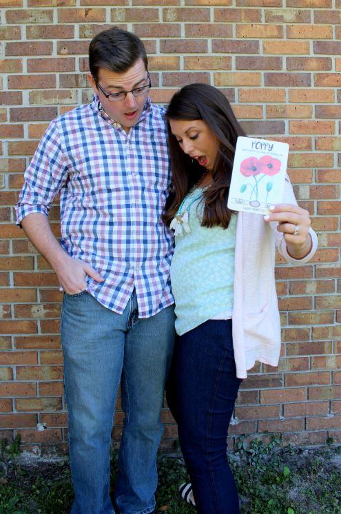 Surprise! We're pregnant!