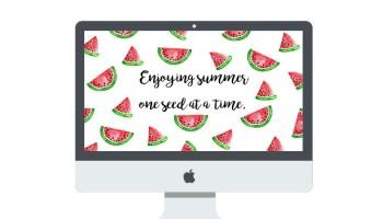 June 2016 Watermelon Wallpaper Free Download