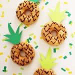 DIY Pineapple Donuts