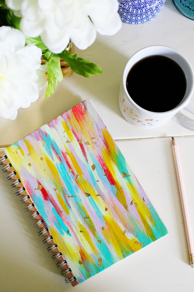Vibrant Notebook by EttaVee