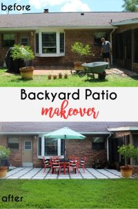 Home Project // Backyard Patio Makeover