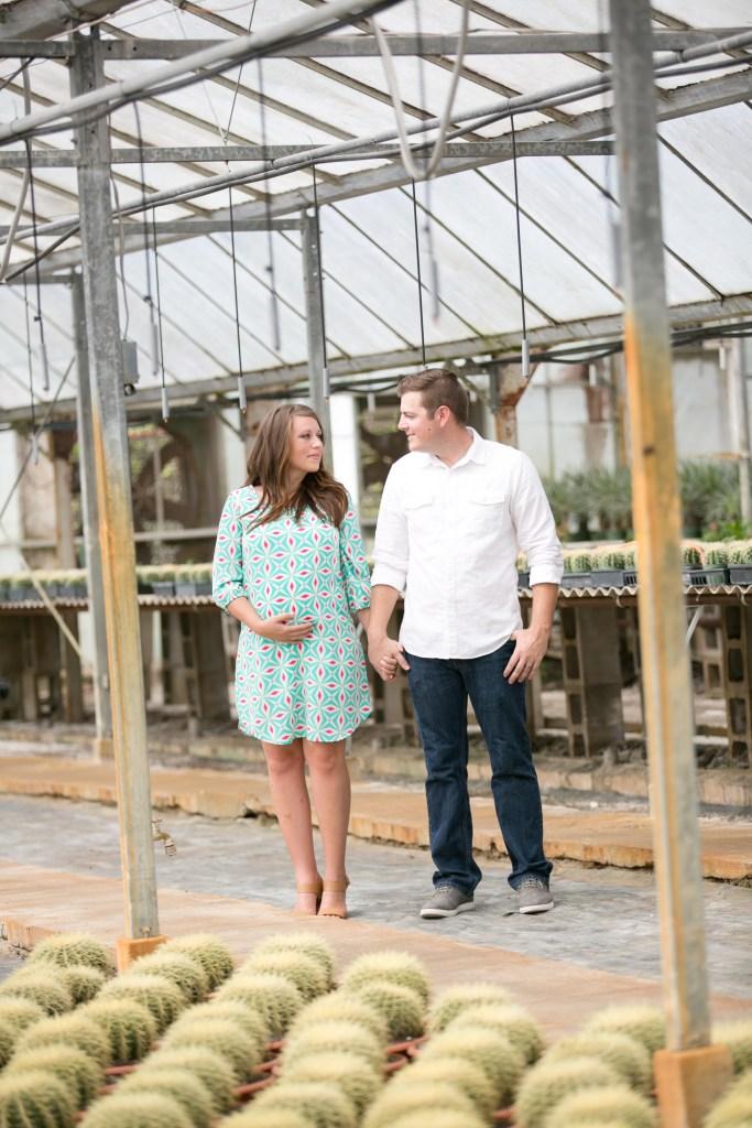 Couples Greenhouse Photoshoot