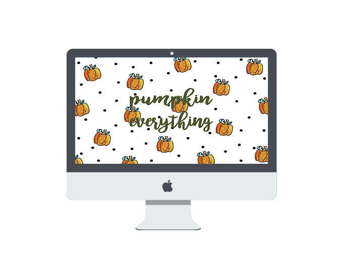 Pumpkin Everything Just the Computer