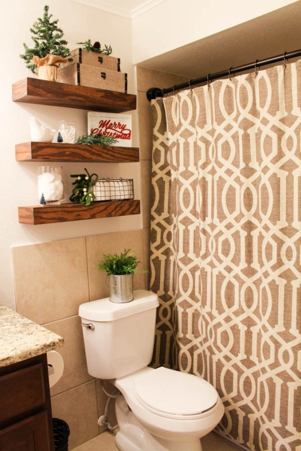 Farmhouse bathroom mini makeover  - Within the Grove
