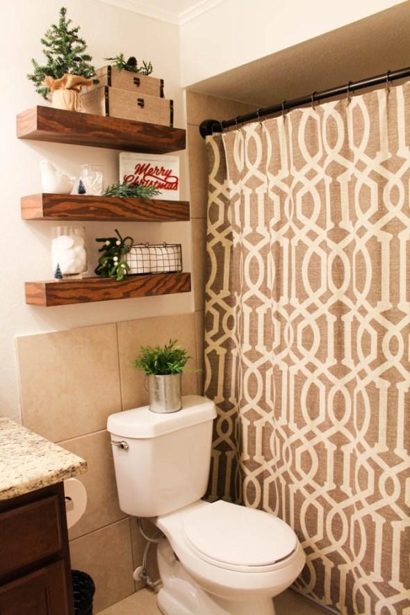 Farmhouse bathroom mini makeover  - Within the Grove