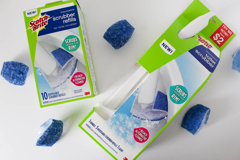 Scotch-Brite™ Disposable Toilet Scrubber  - Within the Grove