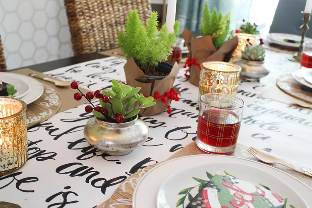 Creating a Holiday Table with Within the Grove