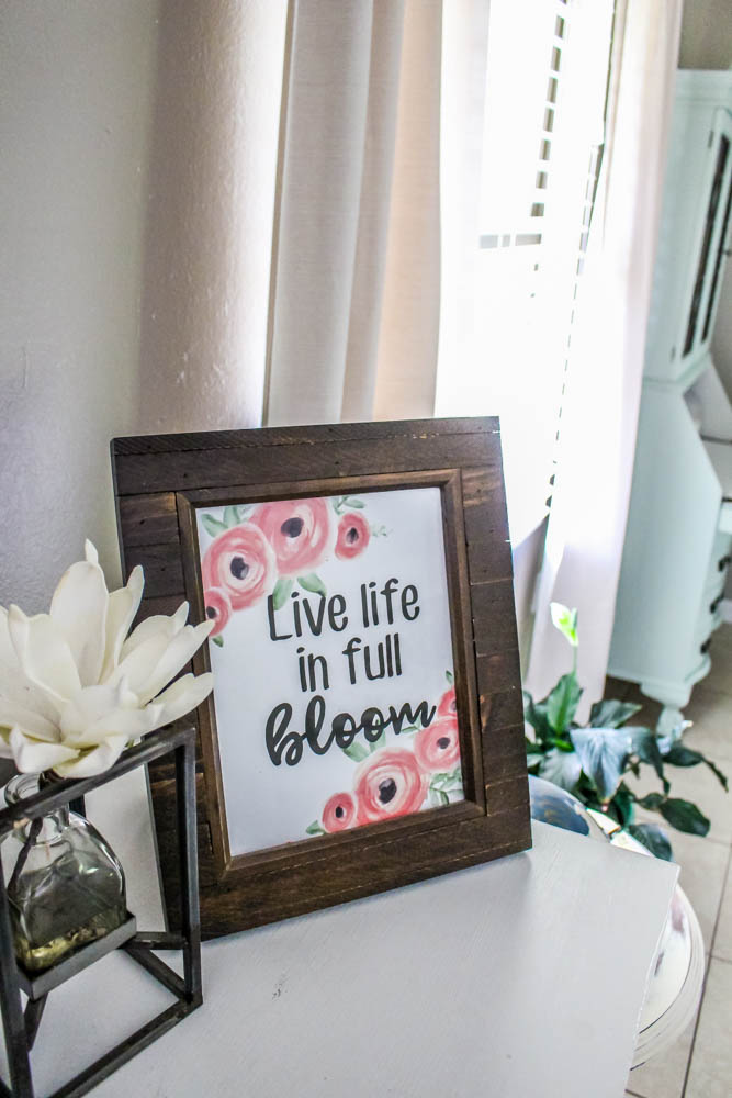 Free Printable Live Life In Full Bloom Print Within The Grove Where i live is an american sitcom that premiered on march 5 until november 20, 1993 as part of abc's tgif lineup. life in full bloom print