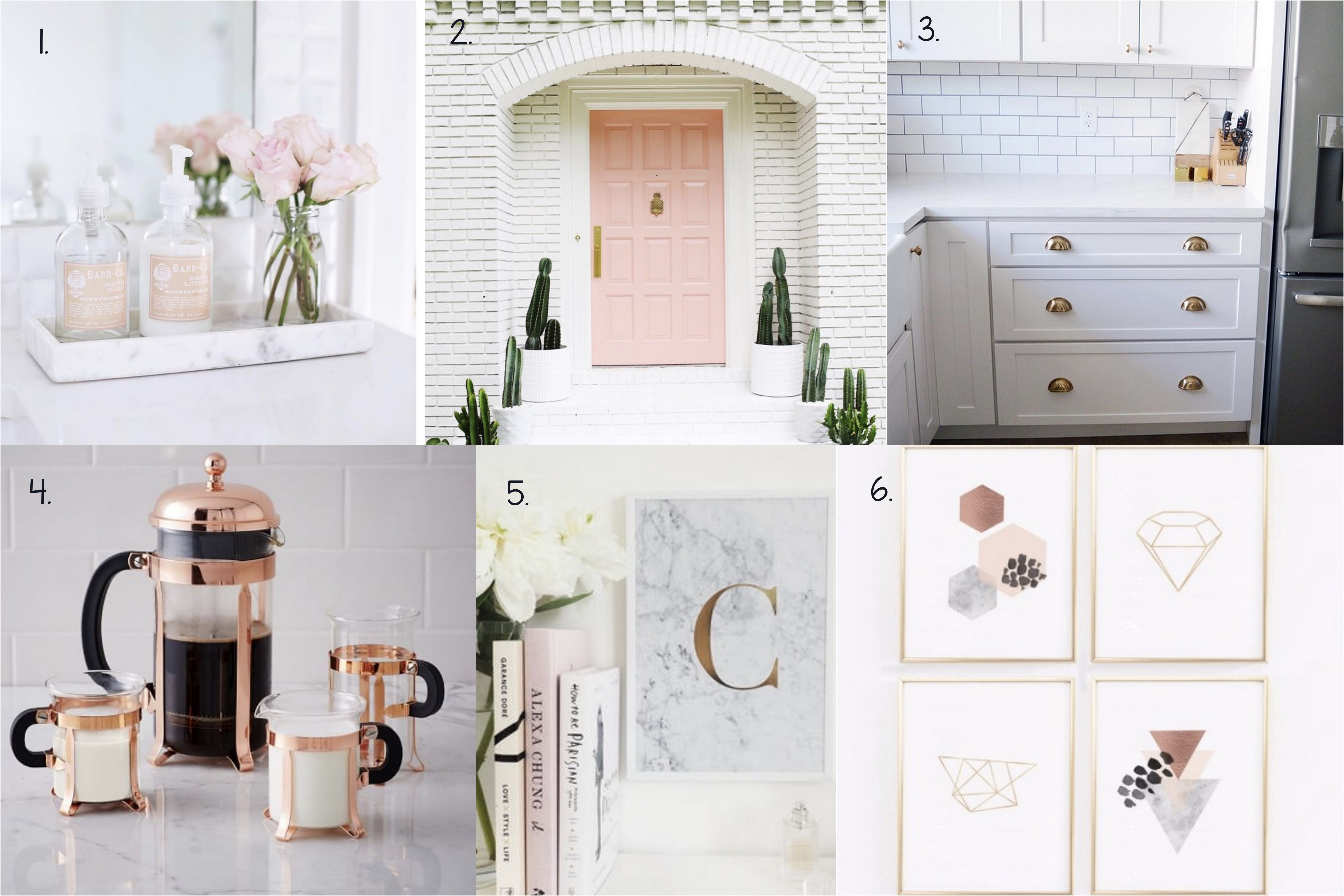 ... Board All About Blush, Copper, And Marble, I Thought I Would Share With  You A Few Of My Favorite Fancy Finds That Could Work For Just About Any Home .