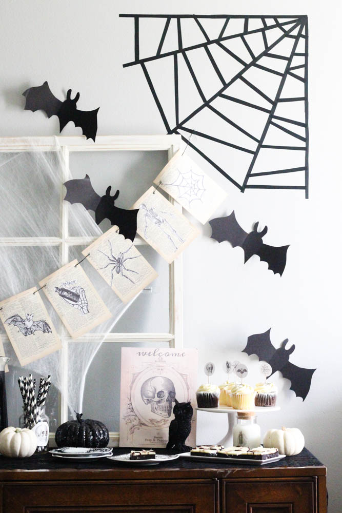 DIY Halloween Home and Party Decor