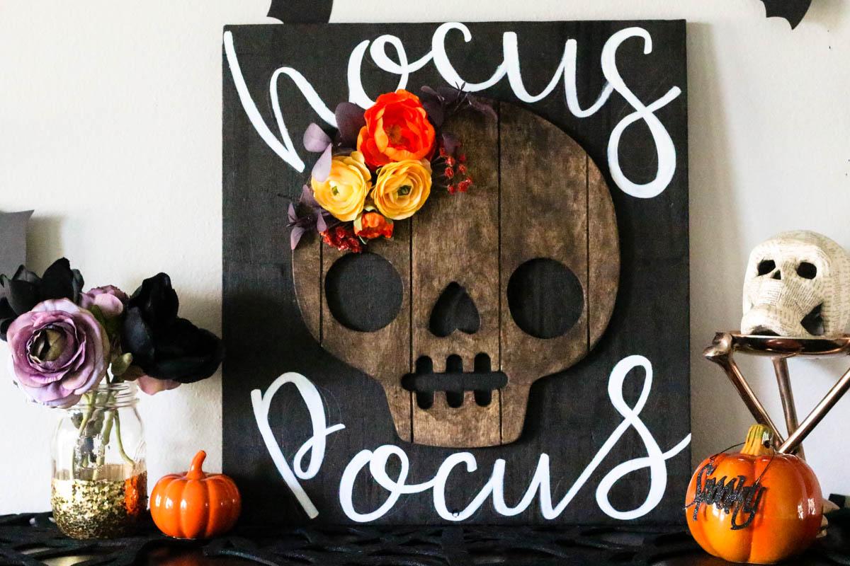 DIY Hocus Pocus Halloween Sign