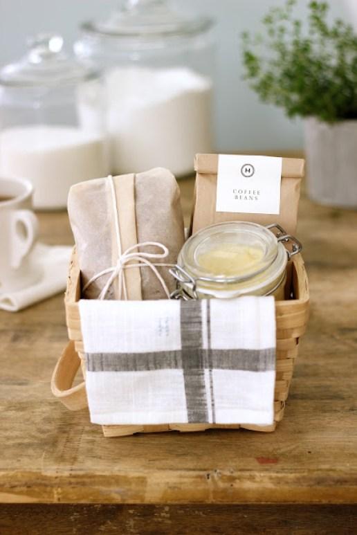 Breakfast Basket for the hostess