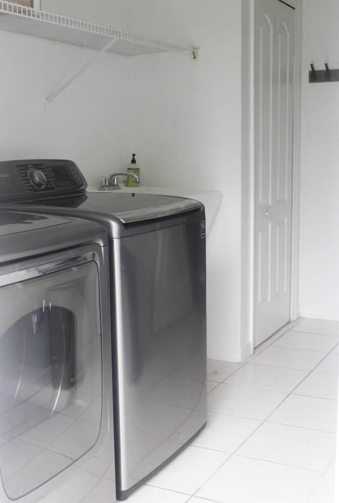 Modern Farmhouse Laundry Room Design Board