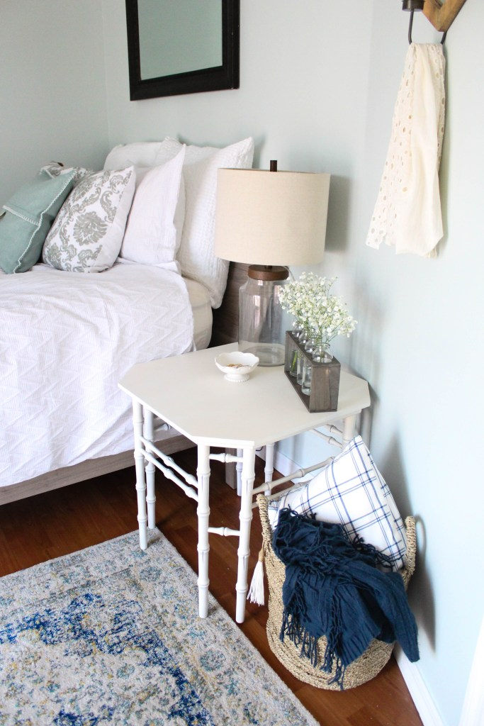 The transformation of the guest bedroom