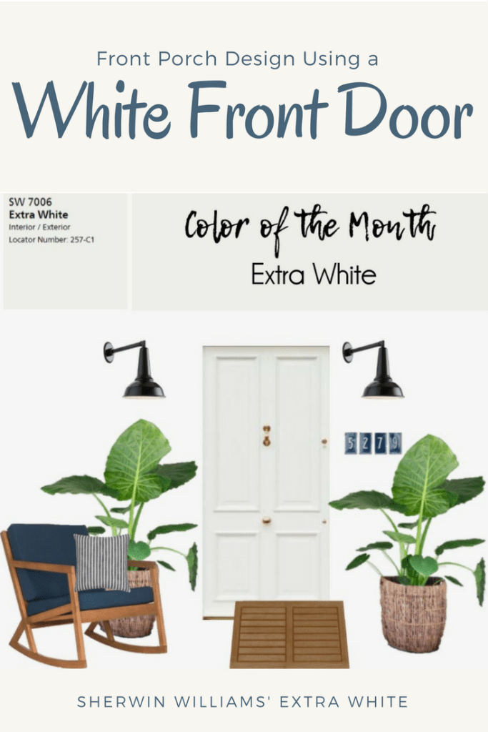 Sherwin William's Color of the Month Extra White