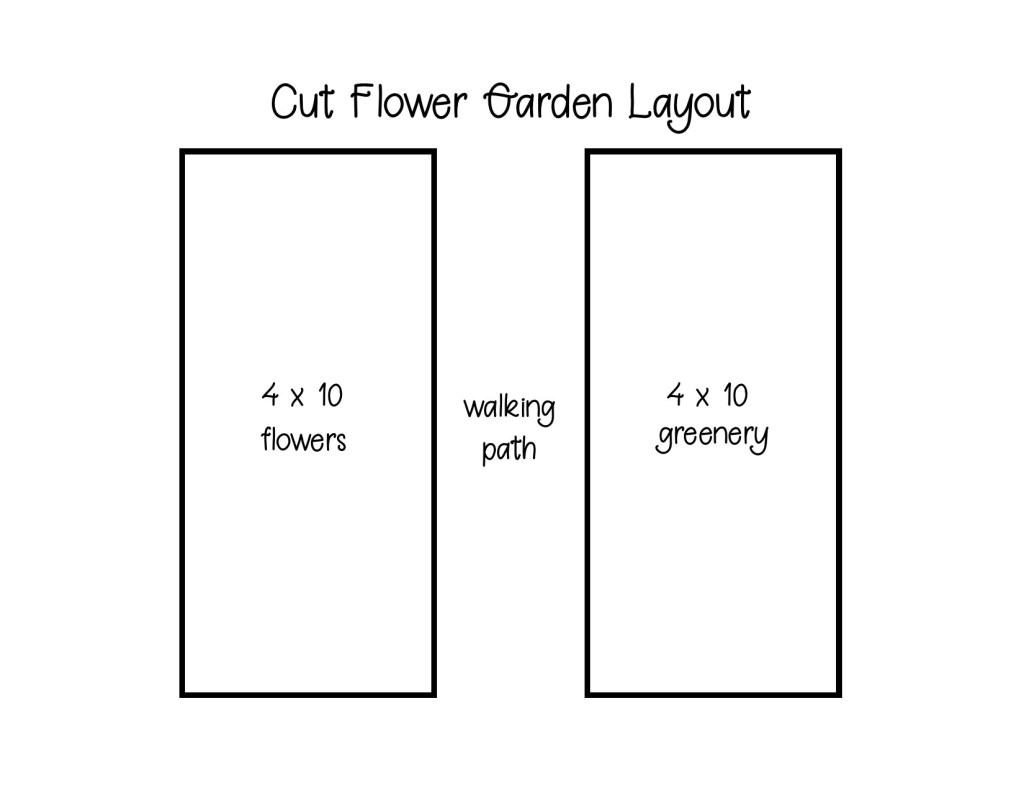 Cut Flower Garden Layout