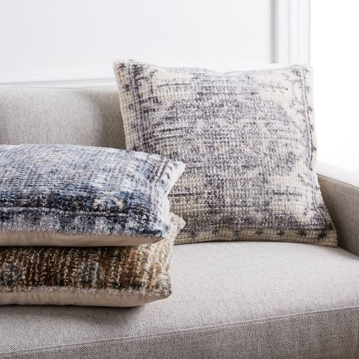 Textured Distressed Pillow By West Elm
